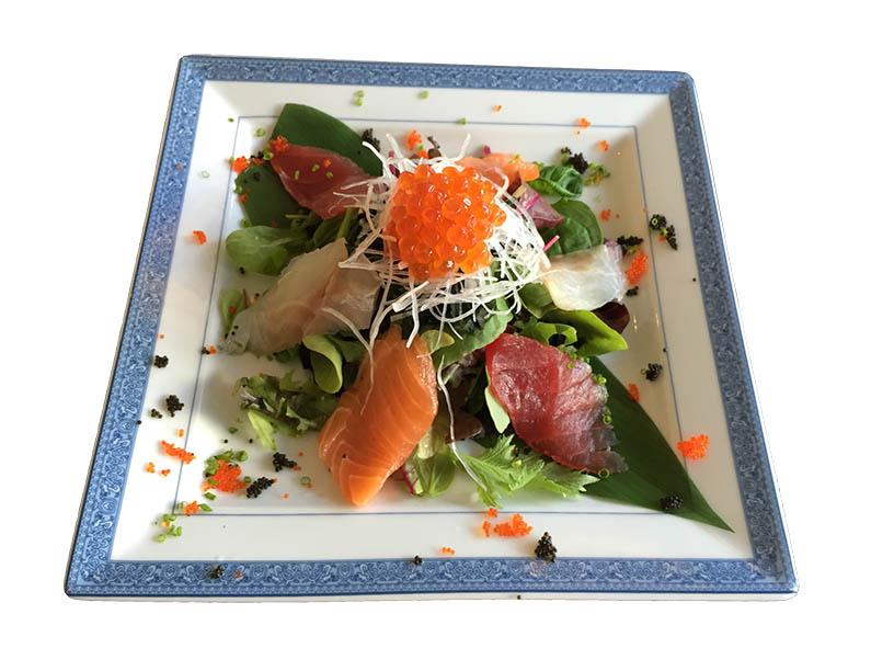 Salade de poisson cru