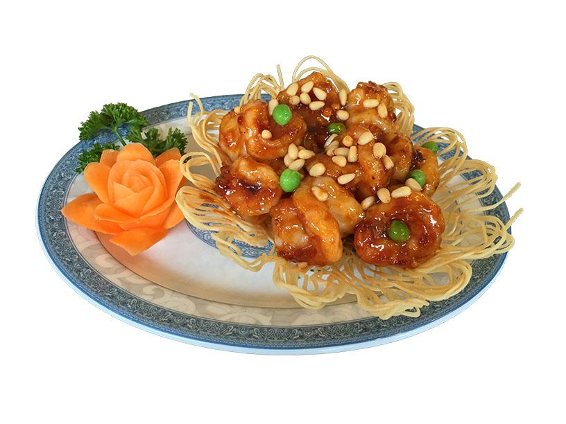 Crevettes géantes sauce du chef